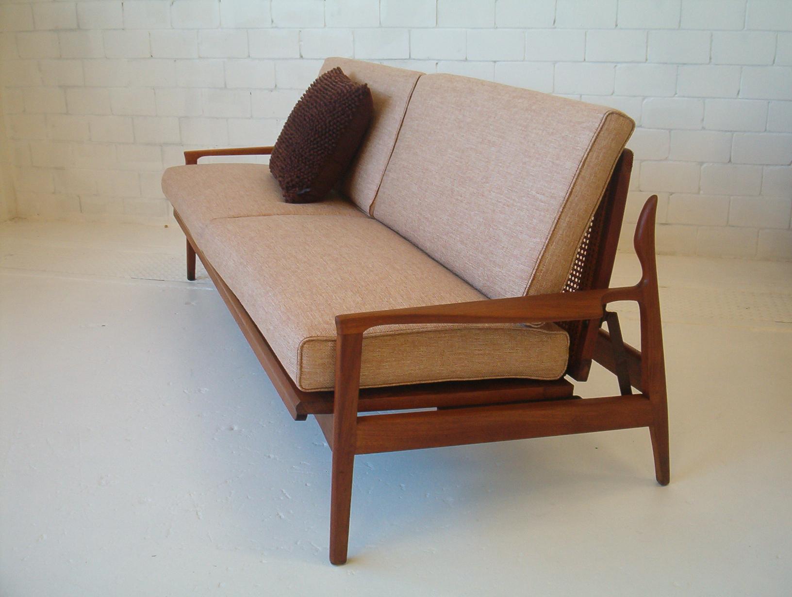 FLER Narvik Day / Night Lounge Sofa Bed. Re-upholstered. VINTAGE.