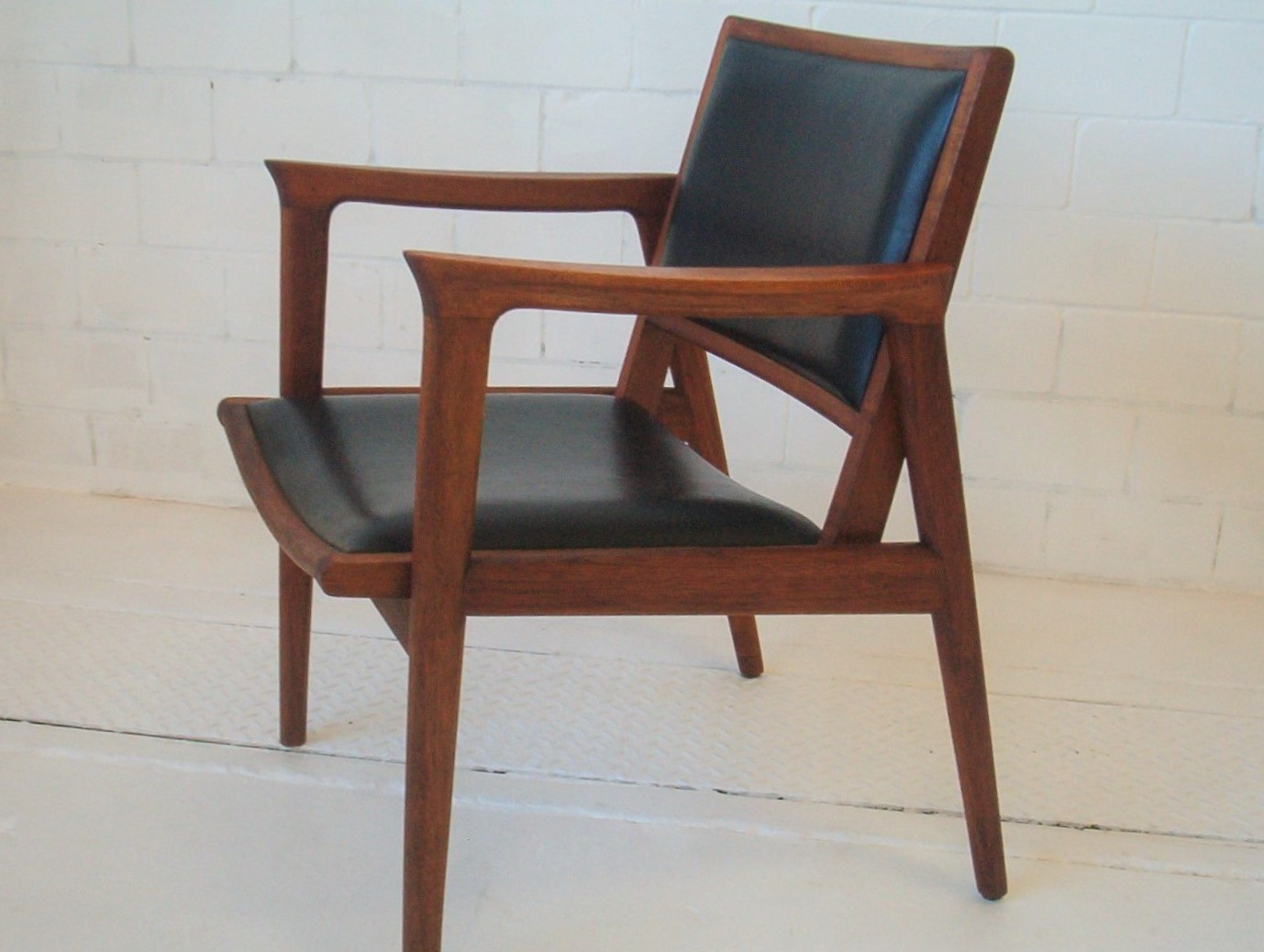 danish th brown and sons chair armchair vintage parker fler era retro 2